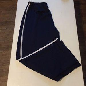 Women's Navy Blue Mesh Track Pants